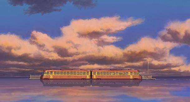 Il treno immaginario che porta dalla città incantata al fight club