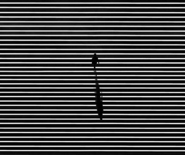 La solitudine nel bianco e nero di Jason M Peterson
