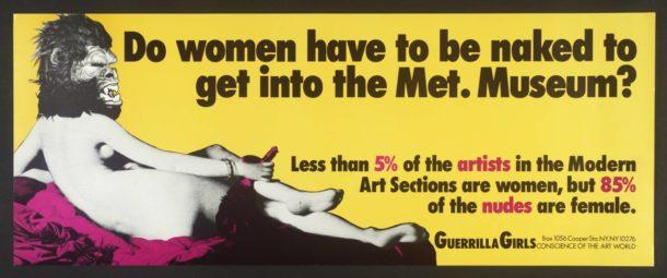 Le artiste donne hanno bisogno di sostegno, non di salvatori