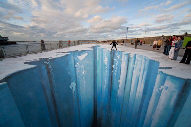 La Street Art tridimensionale di Edgar Mueller