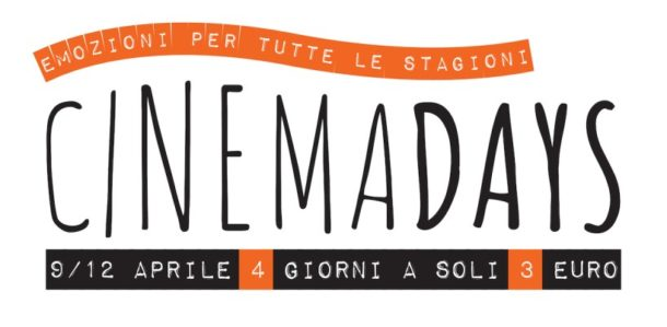 "Tornano i ""Cinemadays""!"