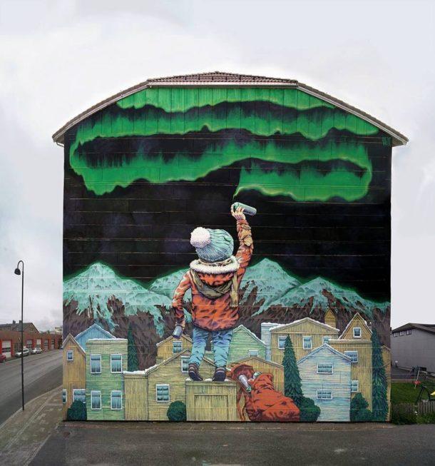Rustam QBic e i suoi muri surreali