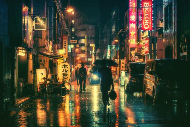 Tra sogno e realtà: la Tokyo sospesa di Masashi Wakui