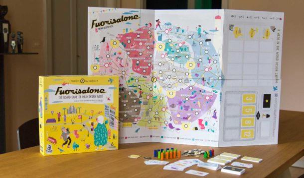 Fuorisalone: il gioco da tavolo per scoprire la Design Week