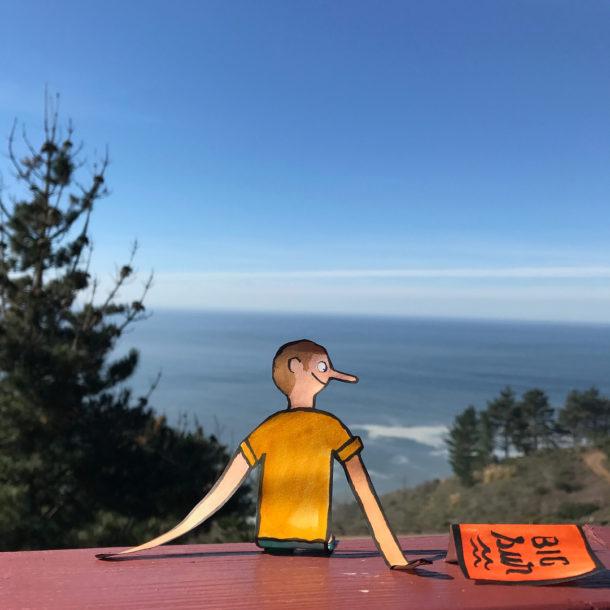 """""""On the road to Big Sur"""" viaggio alla ricerca della creatività"""