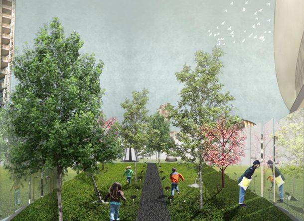 Hidden Garden: Il giardino nascosto in Piazza Gae Aulenti