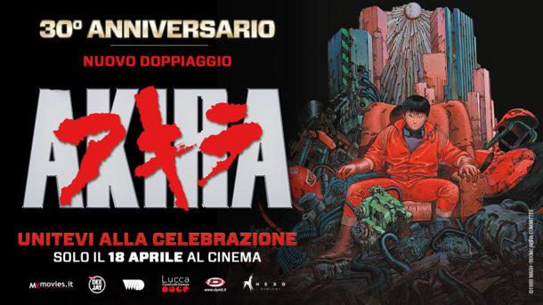 Akira torna al cinema per il 30° anniversario