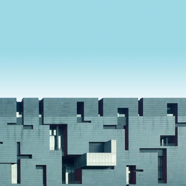 Gli scatti minimalisti dei grattacieli in Cina
