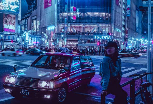 """""""都市光 Urban Lights"""" le luci futuriste delle notti giapponesi"""