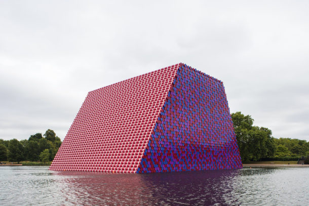 The London Mastaba: la nuova opera di Christo