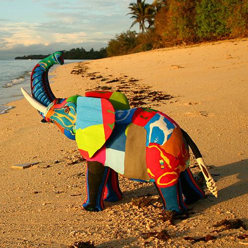 Flip the Flop: capovolgi il danno dell'inquinamento in arte riciclata
