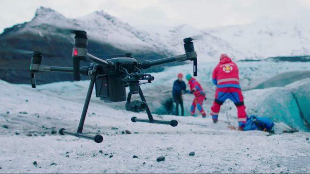 Quando il drone non è solo il miglior amico del videomaker