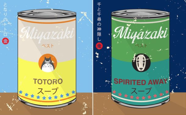 """Special Soup Series"" quando Miyazaki incontra Andy Warhol"