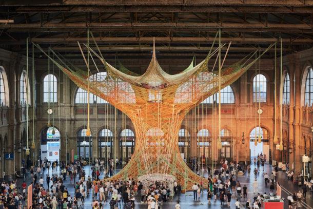 GaiaMotherTree, l'oasi di pace nella stazione di Zurigo