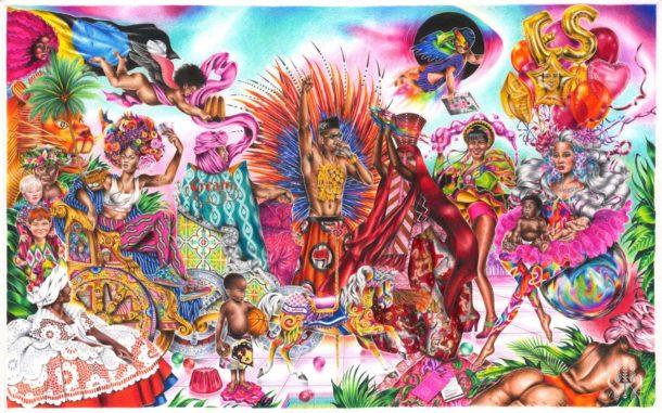 Tra Barocco e Rinascimento: le illustrazioni di Noura Tafeche