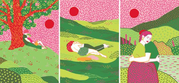 Nella tavolozza di Giulia Tassi, tra natura e colore