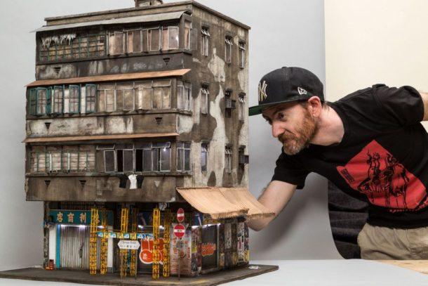 Gli edifici in miniatura di Joshua Smith