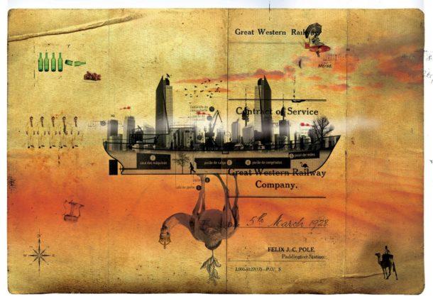 """Le illustrazioni ispirate a """"Le città invisibili"""" di Calvino"""
