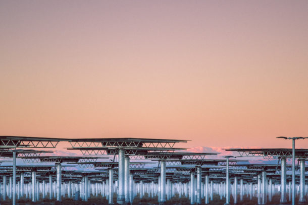 Pannelli Solari come installazioni d'arte negli scatti di Reuben Wu