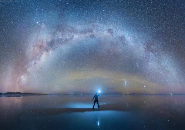 Gli incredibili scatti di Daniel Kordan nel deserto di sale