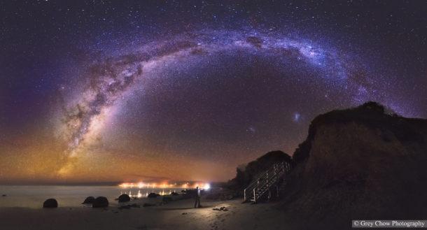 La Via Lattea nelle immagini di Gray Chow