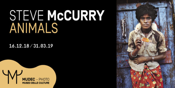Steve McCurry per il battesimo del MUDEC-PHOTO