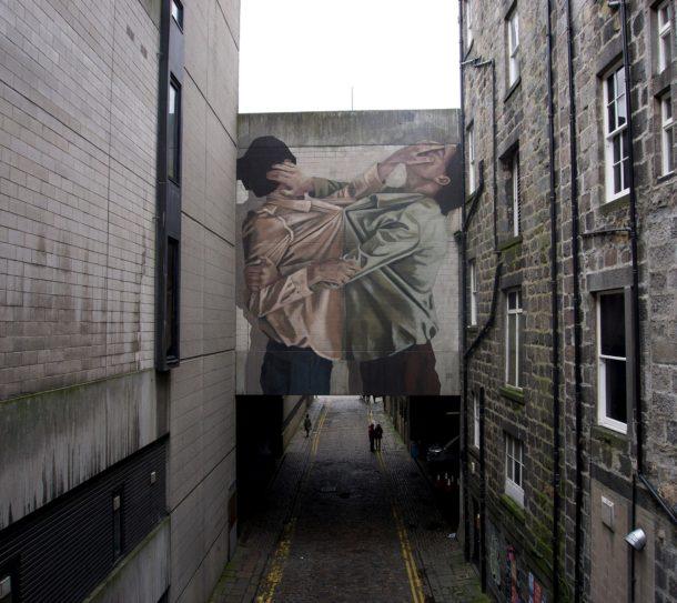Psicologia su muro: i monumentali graffiti di Tamara Djurovic