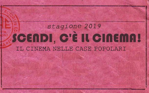 """""""Scendi, c'è il cinema!"""" A Milano torna il cinema in cortile."""